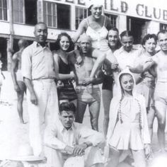 Mid-century vacationers at the premiere African-American summer resort, Idlewild, Michigan - from Discover Black Heritage