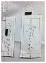 Sleeve Plackets Made Simple - Sew Daily - Blogs - Sew Daily *Dimensions of a placket