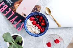 Vanilla coconut overnight oats - Mariannan