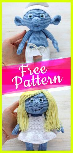 Amigurumi Smurf Free Patterns
