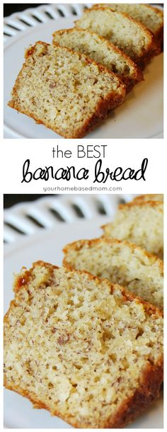 This really is the BEST banana bread you will ever try.