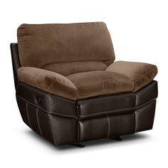 Chandler Upholstery Glider Recliner - Value City Furniture Living Roon, Glider Recliner, Nursery Twins, Value City Furniture, Queen, Warm Grey, Gliders, Living Room Furniture, Ottoman