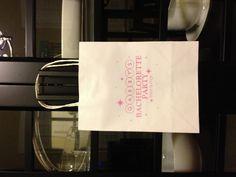 Custom made Bachelorette bags designed and hand printed onto each bag by wright4design sold on Etsy.com, $3.75 #bachelorette #giftbag #palmsprings #bacheloretteparty #etsy #DIY #bride #weddingplanner #gift #bag #customdesign #weddinghanger #donotdisturb #hangover #weddingwelcomebag #doorhanger #instawedding #diy #diywedding #weddingidea #weddinggift #weddingfavor #giftbag #Etsywedding #destinationwedding #instabride #instawedding  http://www.etsy.com/people/wright4design