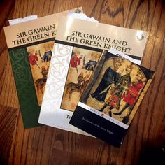 I love a great curriculum, especially literature!! Sir Gawain and The Green Knight by Memoria Press