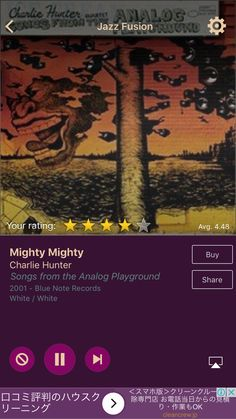 Mighty Mighty by Charlie Hunter on AccuRadio