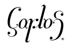 Carlos ambigram