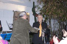 Agradecimientos del director del museo D. César Ubierna