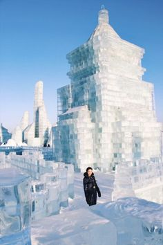 Famous for its epic Harbin Ice Festival, the city of Harbin, China can still keep you busy all-year round! Here's our list of the top things to do in Harbin Ice Festival China, China Destinations, Places To Travel, Places To Visit, Snow Castle, Snow Sculptures, Island Park, Festivals Around The World, Harbin