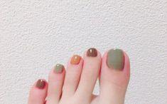 The Most Trendy Fall Nail Designs You'll Love - Sayfa 11 / 58 - trend nail ideas! Feet Nail Design, Toe Nail Designs, Fall Nail Designs, Ongles Bling Bling, Bling Nails, Fancy Nails, Trendy Nails, Vogue Nails, Color For Nails