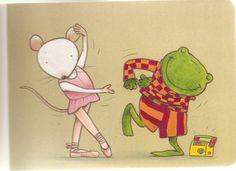 Nellie en Cezar dansen!