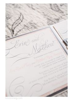 Trump National Wedding, Charlotte NC Wedding Photographer, Kristin Vining  Photography, Wedding Invite,