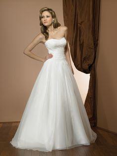 simple and elegant #wedding #dress