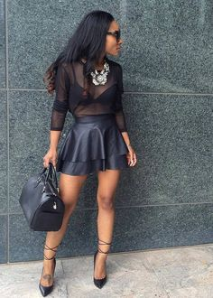All Black Fashion By LayllahStyle