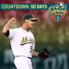 Countdown to #Athletics Spring Training: #50days! Buy your tickets today: oaklandathletics.com/spring #GreenIn13 #LeanIn13