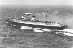 The Italian ocean liner S.S. Rex.