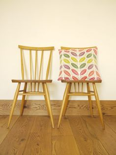 beautiful ercol chairs on Smmersville blog