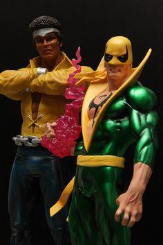 Power Man & Iron Fist | Statue | Bowen Designs Marvel Comics