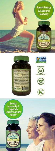 Pure Hawaiian Spirulina | As one of the world s most nutritious superfood supplements, Hawaiian Spirulina can be taken by anyone looking to add a healthy superfood supplement to their diet . Boosts Energy and Supports Immunity, Cardiovascular, Eye and Brain Health. Spirulina can be easily mixed with beverages or meals including salads, appetizers, smoothies, and much more.  via: @nutrexhawaii