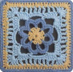 This book contains a wonderful collection of 50 innovative square designs which will quickly become a much-used volume in your personal crochet library. Whether you are looking for a colorful square f