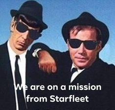 Star Trek Jokes and Star Trek Humor (or humour!)--Jokes about your Favorite Star Trek Characters of whatever generation - star trek joker Star Trek Jokes, Star Trek Rpg, Star Wars, Star Trek Original Series, Star Trek Series, Spock And Kirk, The Blues Brothers, Star Trek Images, Star Trek Characters