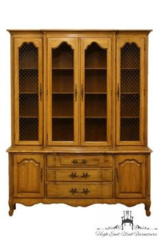 Thomasville Furniture Tableau Collection French Provincial 62 Buffet W China Cabinet 701 29