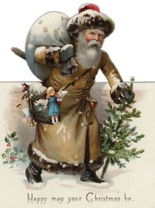 Browse our growing collection of free vintage holiday graphics. Use our old-time Santa clipart, Christmas angels, and more in your designs. Victorian Christmas Decorations, Vintage Christmas Images, Antique Christmas, Vintage Images, Christmas Graphics, Christmas Clipart, Christmas Postcards, Father Christmas, Christmas Angels