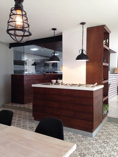 Italian restaurant VERONA. Interior view. The interior design takes several references to a traditional family's trattoria. Architects: MAAM AGENCY, Colombia.