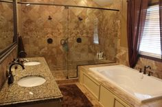Can you say Oh My Granite! Absolutely #remodeled master bath. Love the #shower and bathroom. House is at 15227 E. Zimmerly Court, Wichita, KS 67230. $374,900