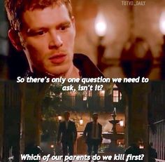 "The Originals, season 2 trailer. ""Which of our parents do we kill first."""