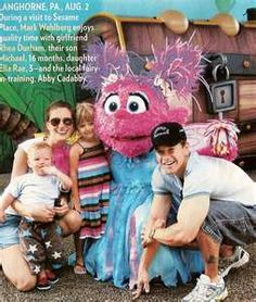 at Sesame Place...We Remember this day. What a great day!