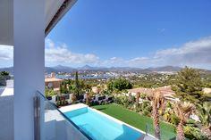 Panoramablick von der Poolterrasse : Moderne Villa in Santa Ponsa, Mallorca! http://www.casanova-immobilienmallorca.de/de/villa-haus/241614