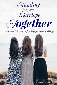 Are you taking a stand for your marriage? Try this practical resource for support and encouragement in your stand for marriage.