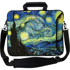 "Designer Sleeves 17"" Executive Laptop Sleeve - Starry"