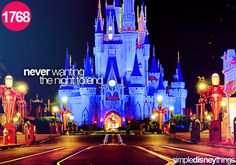 Been there. At 3:47 a.m. Miranda and I were the last two people to leave Magic Kingdom...it was kinda hard to let go.