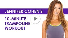 Fitness Video: Try This 10-Minute Trampoline Workout