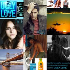 Ugly Love by Colleen Hoover. Tate and Miles. San Francisco. Orange juice. Condoms. Kissing in the rain. Apartment keys. Minnie Mouse scrubs. Watching the sunrise from a plane. Miles doing his laundry. Rachel. UGLY LOVE. I think I need a reread already!
