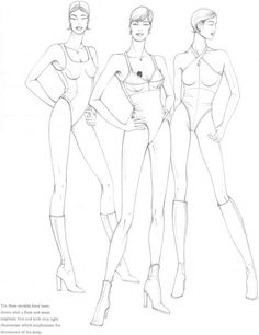 Figure Model Fashion Design