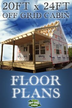 Are you looking for the perfect floor plan for your cabin, cottage or tiny home? Look no further as we teach you exactly how we designed and tested the floor plan for our x off grid home before we did anything else! Save time, money and headache Small Cabin Plans, Small Log Cabin, Small Floor Plans, Log Cabin Kits, Cabin House Plans, Tiny House Cabin, Tiny House On Wheels, Small House Plans, Tiny Cottage Floor Plans