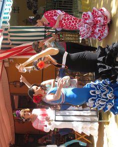 Dancing at the Feria de Abril in Sevilla.