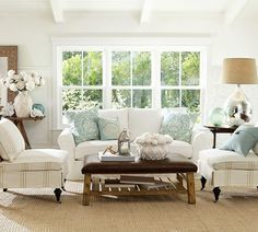 Cottage Chic sitting room/living room