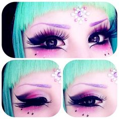 Makeup Inspiration | Mashyumaro Japanese alternative #kawaii #alternative