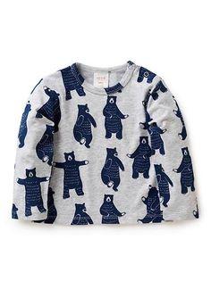 Baby Clothes | Bb Bears Long Sleeve Tee | Seed Heritage
