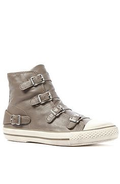The Virgin Sneaker in Perkish Wax by Ash Shoes - $157 - leather