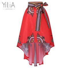 African Dress for women Traditional african clothing African National Printed Big Swing Skirts Ankle-length Popular Design Skirt African Fashion Skirts, African Fashion Designers, African Dresses For Women, African Wear, African Women, African Skirt, African Dashiki, Dashiki Skirt, Swing Rock