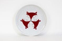 Porzellan - Papeterie Porzellanteller Fuchs Porzellanteller mit einem Durchmesser von 20cm. Qualitätsporzellan aus dem Hause Seltmann Weiden im ava&yves Design. spülmaschinenfest 14,90 € inkl. MwSt., zzgl. Versandkosten