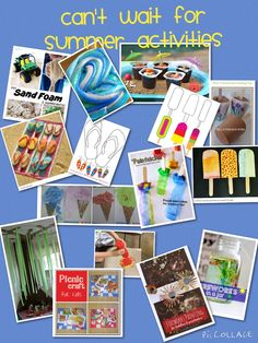 TOUCH this image: 15+ Summer Crafts for Kids - An Interactive Image by Sharyl Cordone