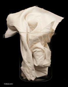 MAIWA: Natural Dyes - Mordants Part 3. Cotton mordanted with alum.