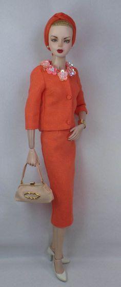 Corallium for Vita Gene and most 16 fashion dolls OOAK