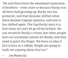 SO BUCKY MAY NOT BE A GOOD GUY IN CW????? NNNOOOO.<<<< I'm sorry, but Bucky has always been and always will be a hero. I'm not gonna be arguing about that.