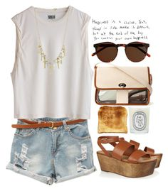"""Untitled #4"" by maartinavg ❤ liked on Polyvore featuring J.Crew, Crafted, Diptyque, Elizabeth and James and Toast"